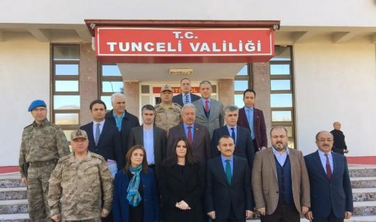 """Bakan Sarıeroğlu: """"Tunceli'ye bu sene 2 milyarın üzerinden yatırım planlaması söz konusu"""""""