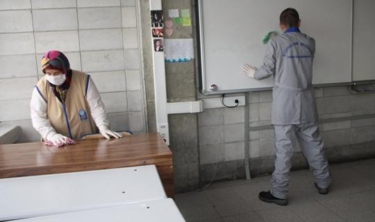Eyüpsultan'da okullar ikinci döneme hazırlanıyor