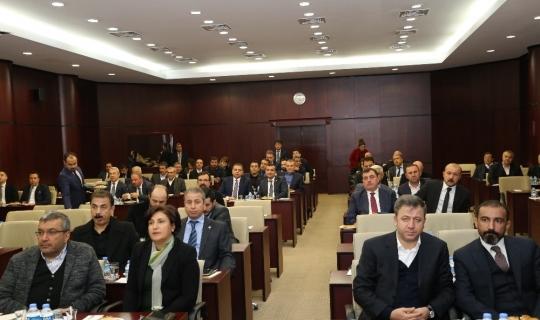 GTO'da yılın ilk meclis toplantısı gerçekleştirildi