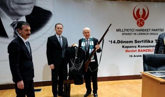 MHP Giresun İl Teşkilatı'ndan Bahçeli'ye ziyaret