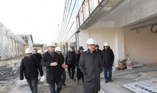 Modern projeler Başkan Köşker'in takibinde