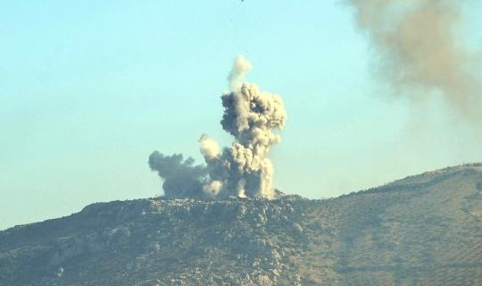 PYD/YPG mevzilerine bomba yağıyor