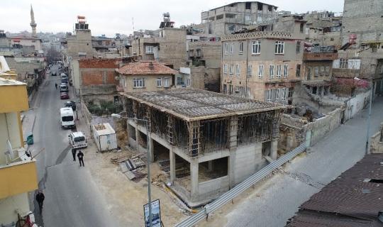 Şahinbey Belediyesinden Saçaklı Mahallesine taziye evi
