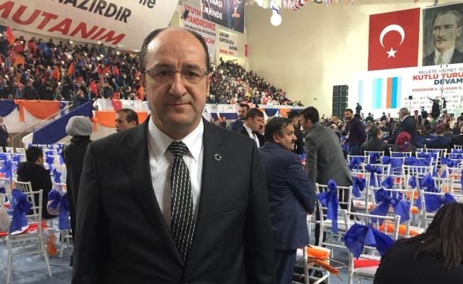 AK Parti Eskişehir İl Başkanı Ünlü'den kongre öncesi açıklamalar