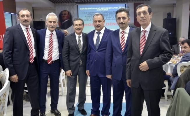 Başkan Ataç Gümüşhanelilerle buluştu