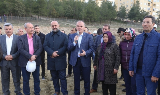 Başkan Gürlesin Aktepe'de vatandaşlarla bir araya geldi