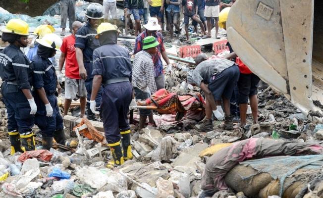 Çöp toplama merkezinde göçük: 17 ölü