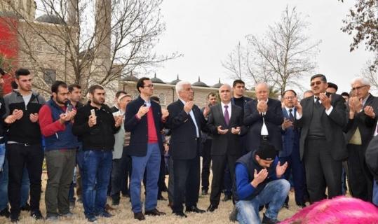 Denizlili iş adamları Afrin operasyonuna duaları ile destek verdi