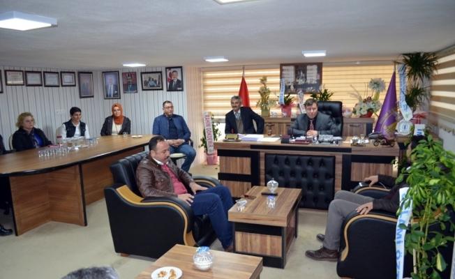 Didim Esnaf Odası, AK Parti'yi ağırladı