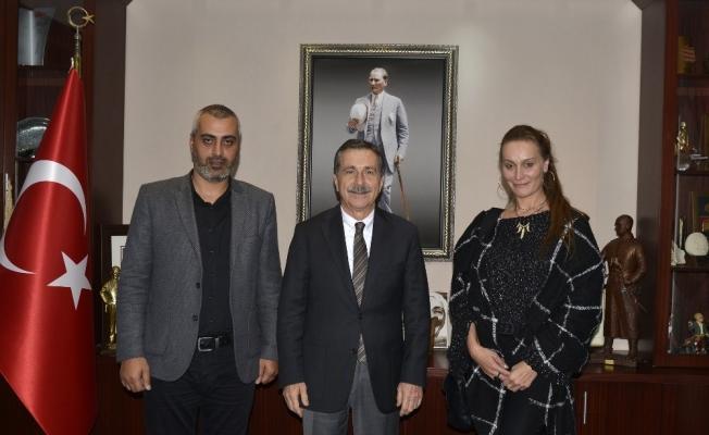 Türk-Alman Kültür Turizm Derneği'nden Ataç'a ziyaret