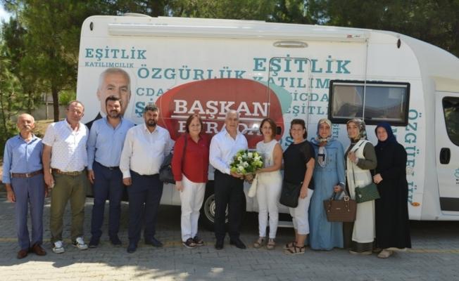 """Bozbey: """"Ahmet Yesevî'de ihtiyaçlar tamamlanacak"""""""