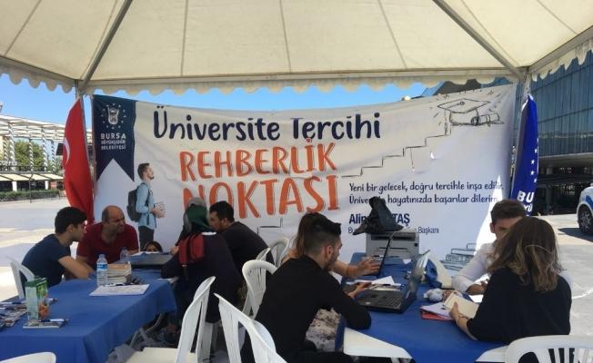 Bursa Büyükşehir'den üniversite adaylarına tercih desteği