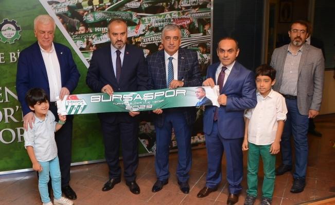 Bursaspor'da 'Askıda Kombine Bilet' projesi