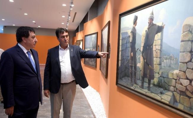 Vali Küçük, Panorama 1326 Fetih Müzesi'ne hayran kaldı