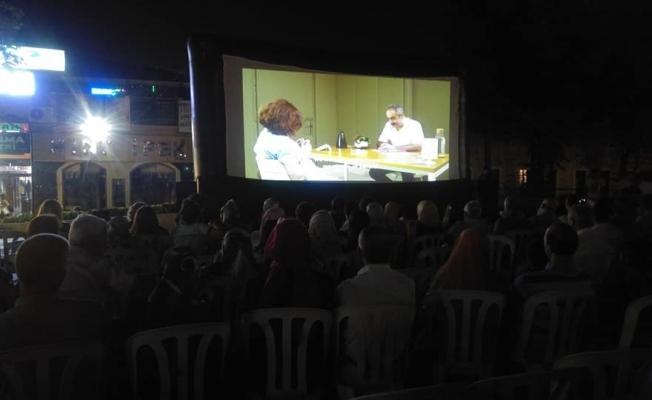 Bursalılar Yazlık Sinemada Buluştu