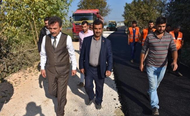 Yenişehir'in köylerinde yüzler gülüyor