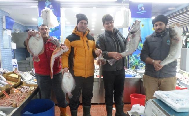 Havalar soğudu balığa ilgi arttı