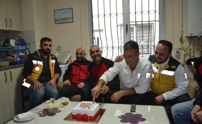 İHH, 112 Acil Servis ekiplerini unutmadı