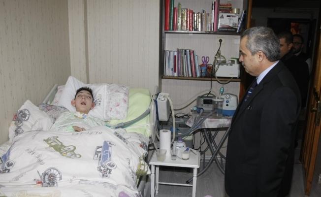 11 yaşındaki Arda solunum cihazına kavuştu