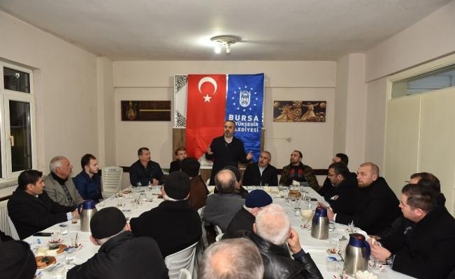 'Bereket sofrası' Gülbahçe'de kuruldu