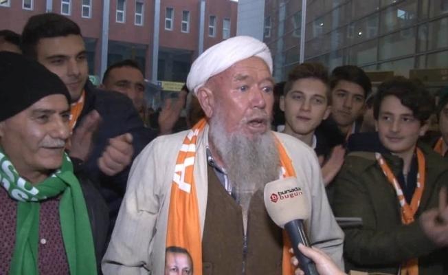 Bursalı Mehmet Amca'nın Erdoğan sevgisi