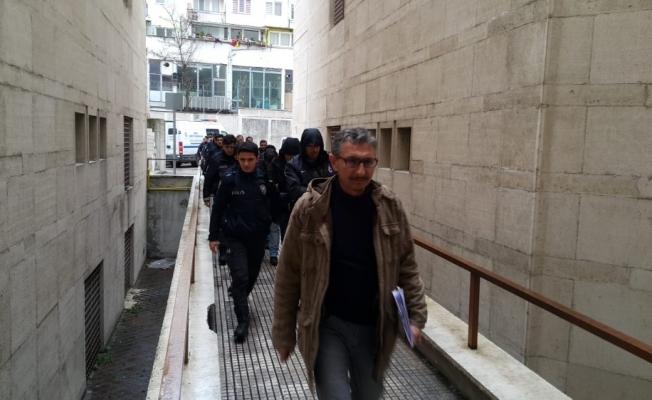 FETÖ operasyonunda gözaltına alınan iş adamları adliyeye sevk edildi