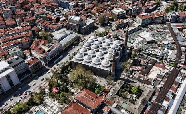 (Özel) Bursa'nın tarihi çarşı ve hanlarına yeni proje...