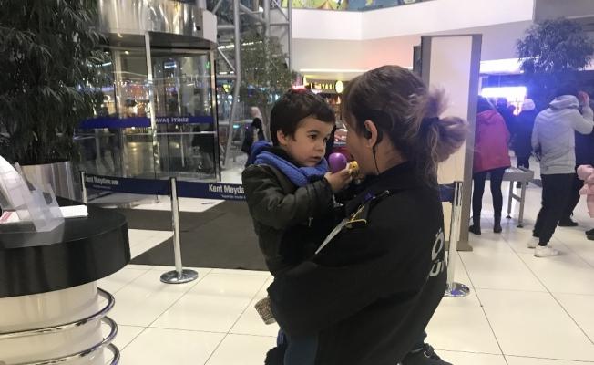 Polis minik Hamza'nın annesini buldu