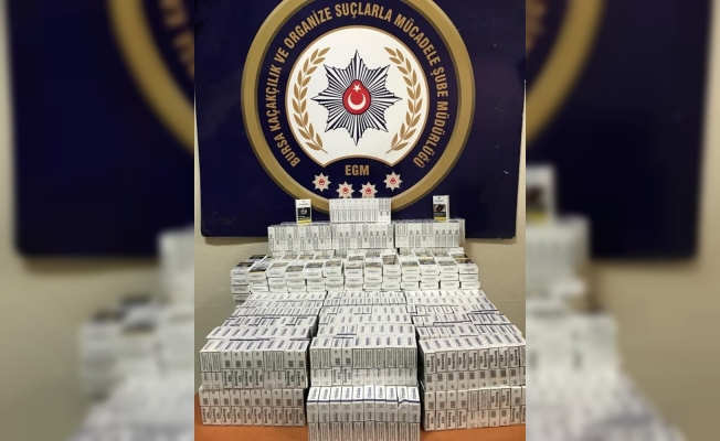 KOM'dan kaçakçılara 157 bin liralık darbe