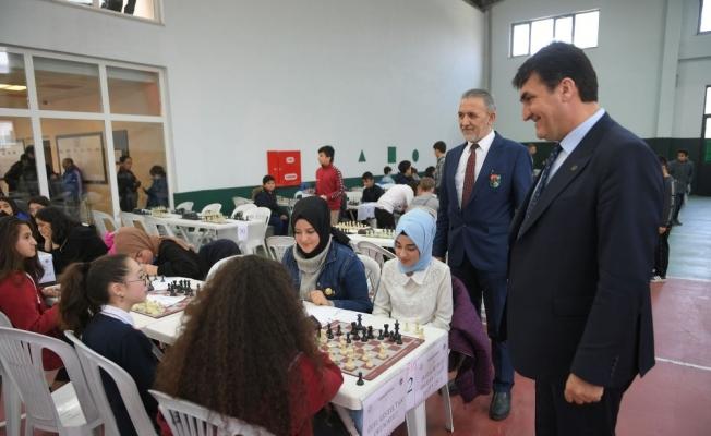 Okul Sporları Satranç Turnuvası başladı