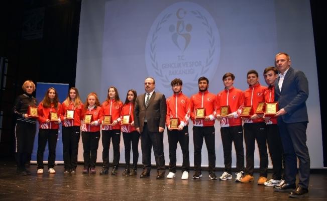 Okul sporlarına Osmangazi damgası