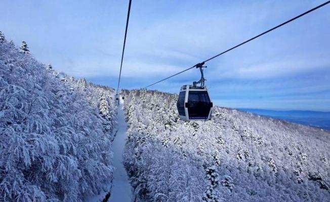 Uludağ'da kar kalınlığı 174 santimetreye çıktı