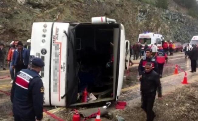 35 kişinin yaralandığı kazayı yapan şoför serbest kaldı