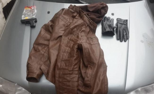 PTT soyguncusunun silahı oyuncak çıktı