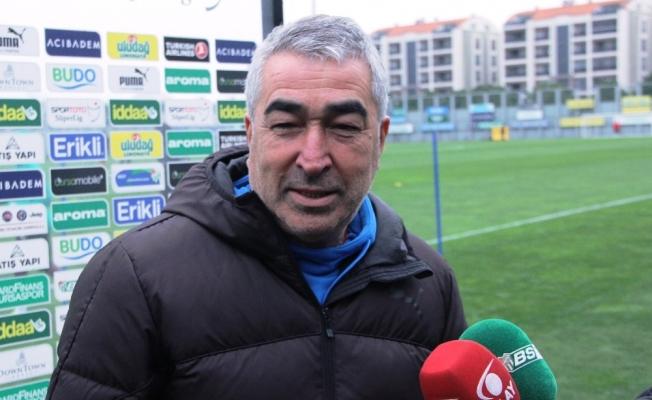 """Samet Aybaba: """"Galatasaray'ın zaaflarından yararlanıp maçı kazanmak istiyoruz"""""""