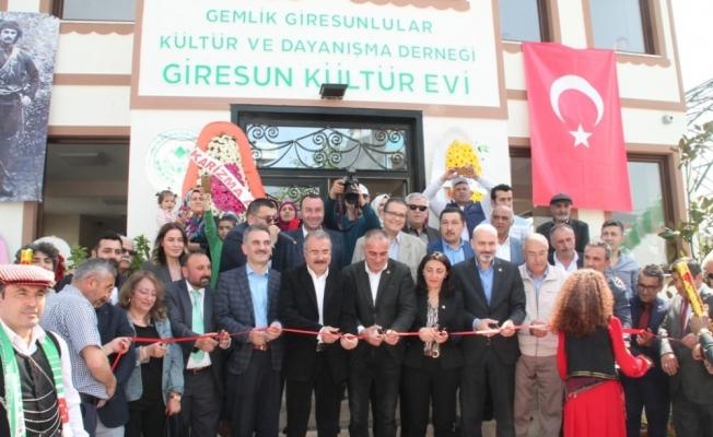 Giresun Kültür Evi Açıldı
