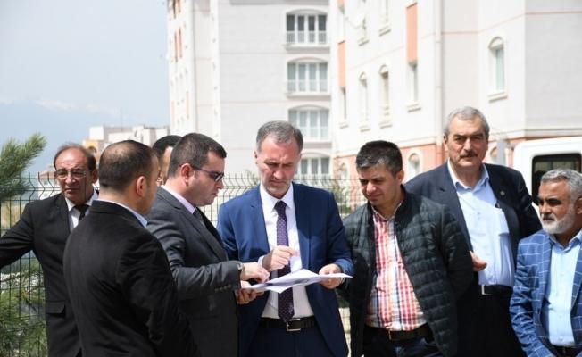 Yeni İnegöl'de projeler yükseliyor