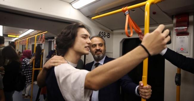 Metroda hedef, daha sağlıklı ulaşım