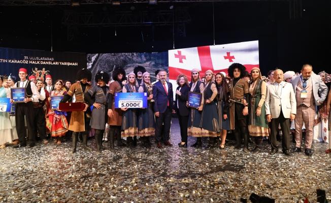 'Altın Karagöz' Gürcistan'ın