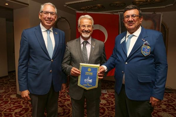 Başkan Erdem'den Tophane Rotary'e teşekkür