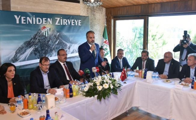 """""""Bursaspor Bursa'nın değeridir"""""""