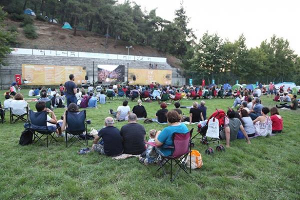 Çalı Köy Filmleri Festivali'ne yoğun ilgi