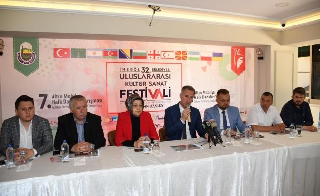 Uluslararası Kültür Sanat Festivali Başlıyor