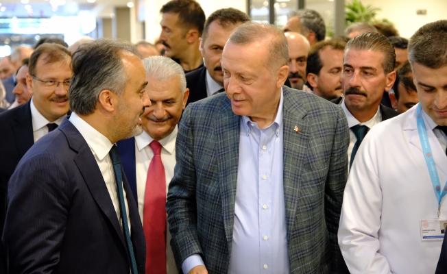 Cumhurbaşkanı Erdoğan'dan Bursa'ya teşekkür