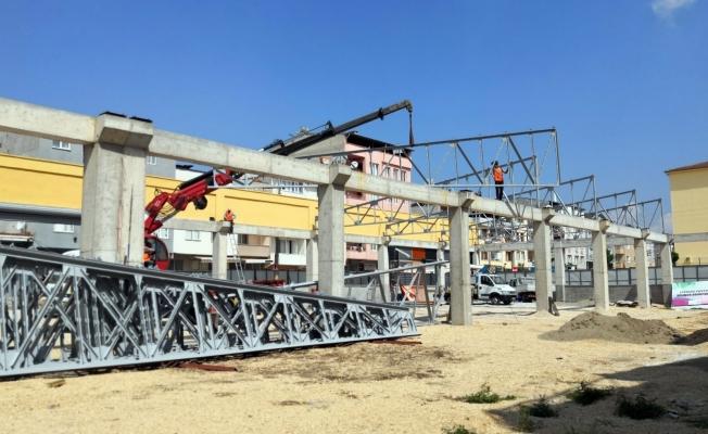 Osmangazi'ye Modern Bir Pazar Alanı Daha