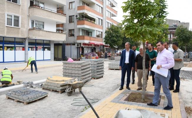 Sinanbey Mahallesinde 20 Araçlık Otopark Yapımı Sürüyor