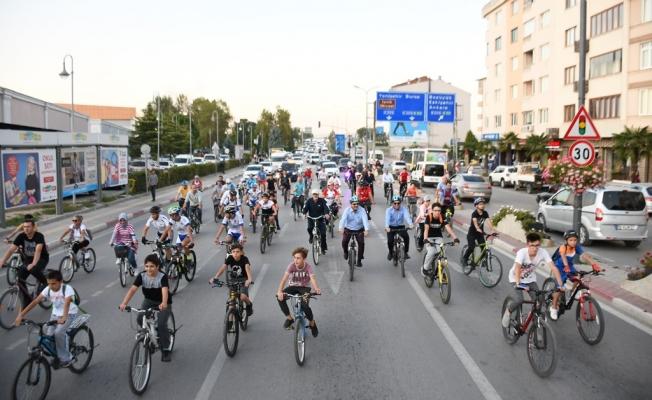 Avrupa Hareketlilik Haftası İçin Pedal Çevirdiler
