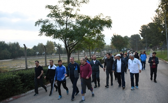 Avrupa Hareketlilik Haftası Kutlamaları Sabah Sporuyla Başladı