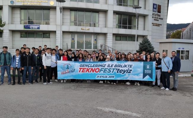 Bilim meraklıları Büyükşehir'le TEKNOFEST'te