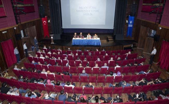 Bursa'da 'ahilik' paneli